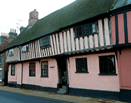 Tudor house in Suffolk